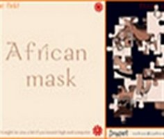African Mask Puzzle